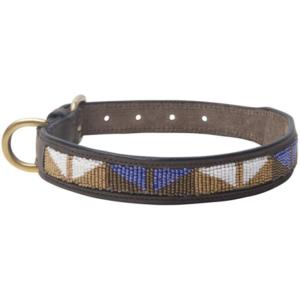 Collare Cane Beads Marrone – Hv Polo