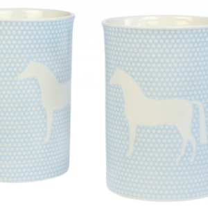 Tazza Cavallo Celeste – set 2