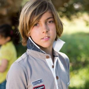 Polo Pique Bambino Beige – Horseware