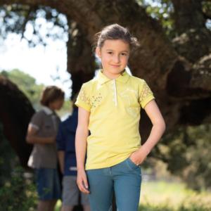 Polo Pique Bambino Blu – Horseware
